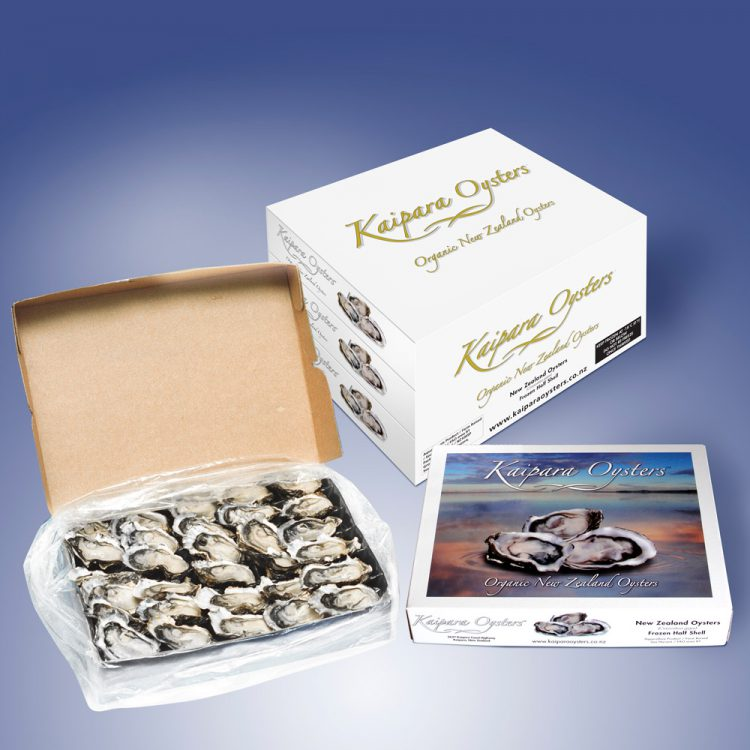 Kaipara Oysters 5 dozen food service packs
